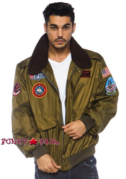 Top Gun Men's Bomber Jacket | Leg Avenue TG86762