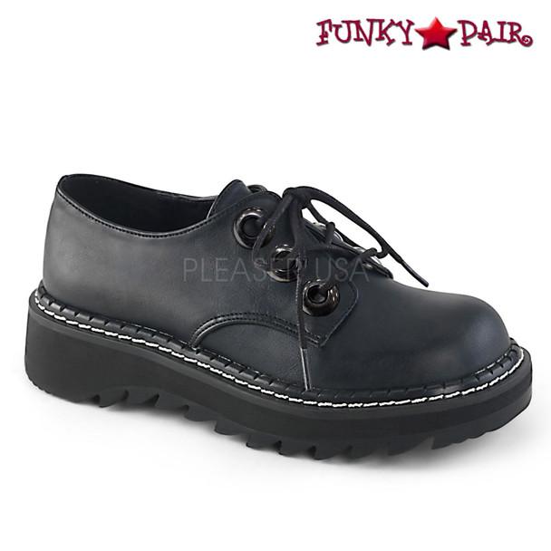 Women Demonia | Lilith-99, Platform Oxford Shoes