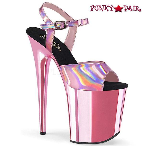 Stripper Shoes Flamingo-809HG color Baby Pink by Pleaser USA