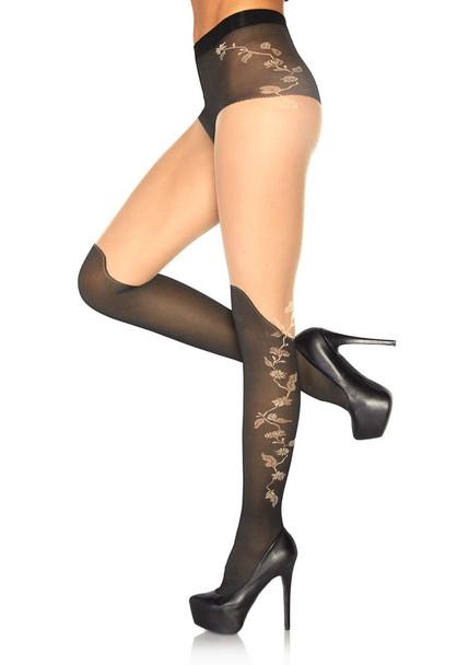 Sheer French Cut Pantyhose Leg Avenue LA-7316