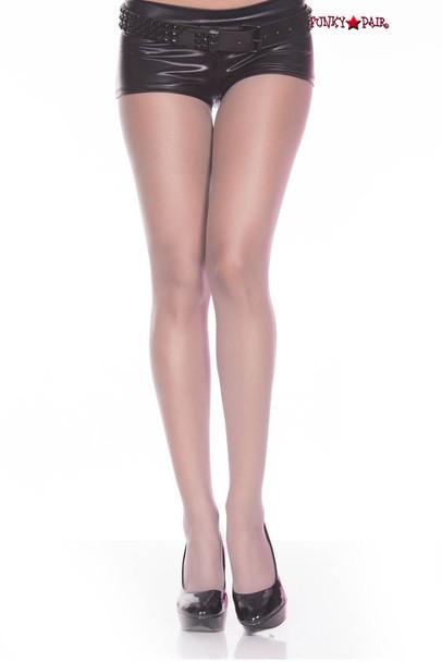 Grey Sheer Pantyhose by Music Legs | ML-777