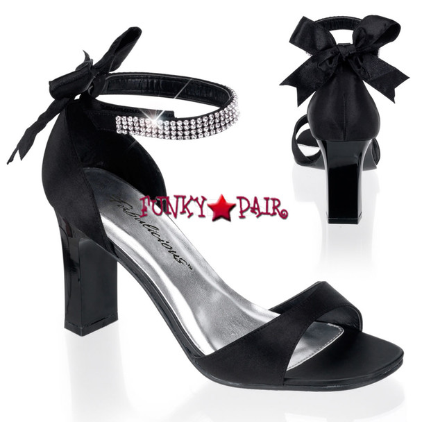 PLEASER | ROMANCE-372, Closed Back Sandal with Bows