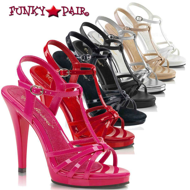 """FLAIR-420, 4.5"""" Heel Evening Strappy Sandal"""