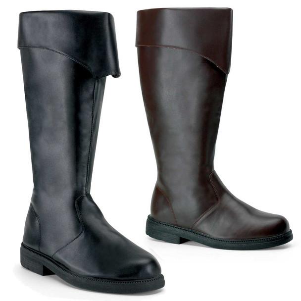 Captain-105, Men's Pirate Boots | Funtasma