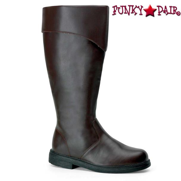 Brown Men's Pirate Boots | Funtasma Captain-105