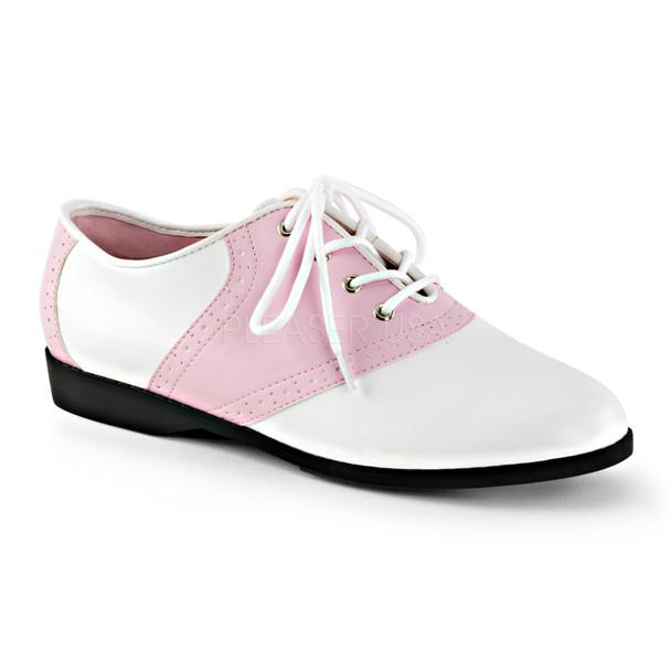 Women's Flat Saddle Shoe