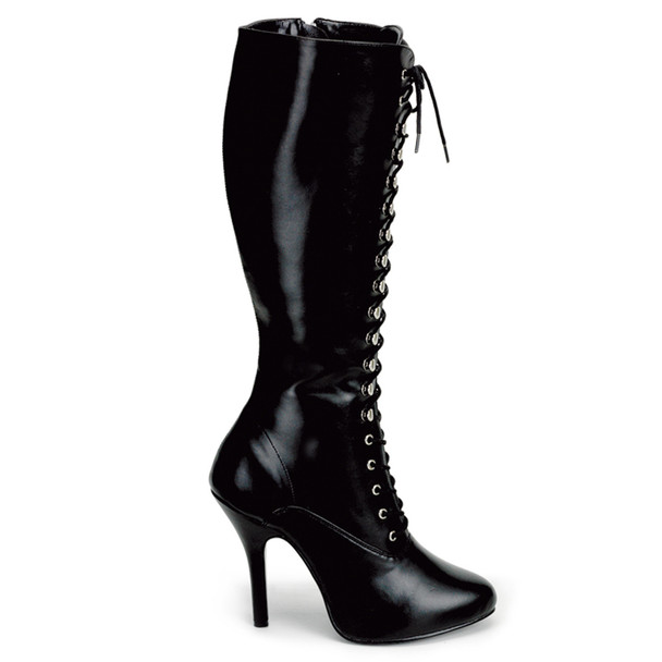 Pleaser | ARENA-2020, 4.5 Inch Lace Up Knee High Boots