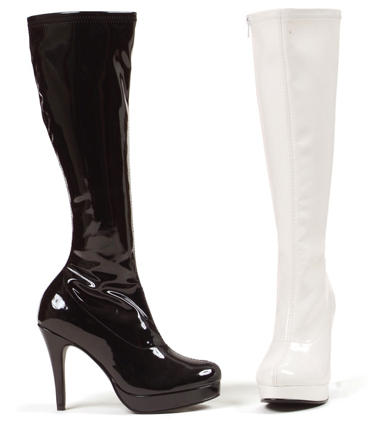 4 Inch Stiletto Heel Knee High Boots * 421-Groove Ellie boots