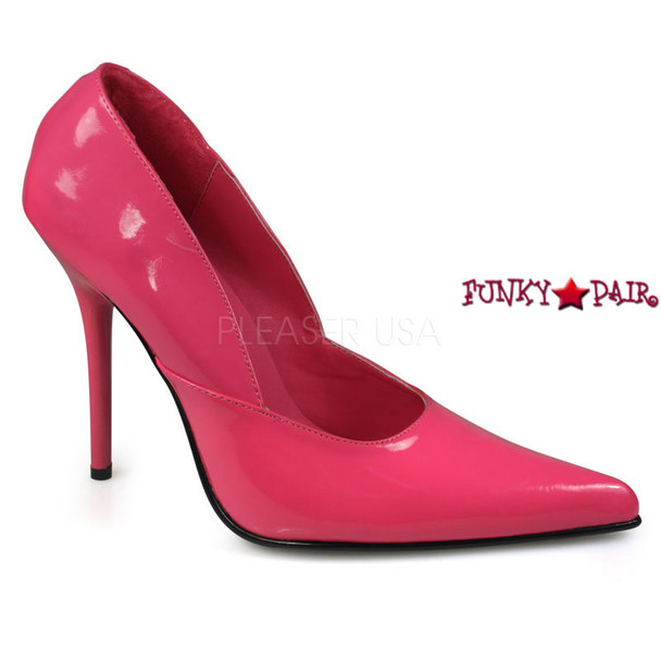 Milan-01, 4.5 Inch High Heel Classic Pump Made By PLEASER Shoes