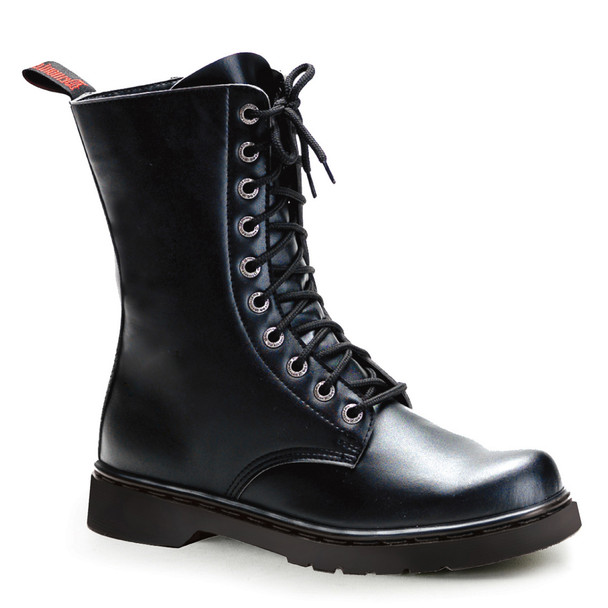 Demonia | Men Defiant-200, Vegan Calf Combat Boots