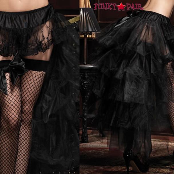 LA-1698, Long Tulle Bustle Skirt