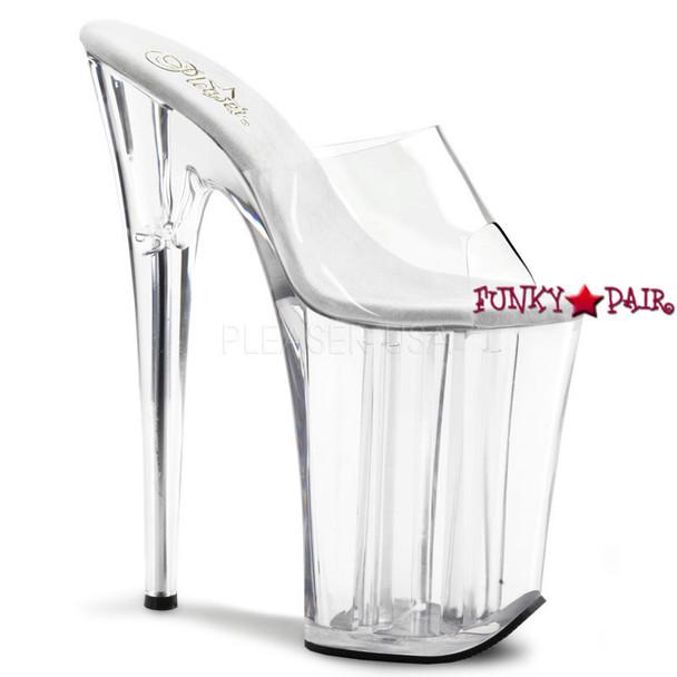 Pleaser Shoes   Infinity-901 * High Platform Slide