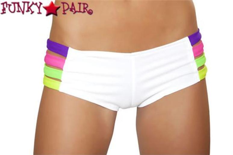 Rave Wear Band Short SF135 Color White/Multi