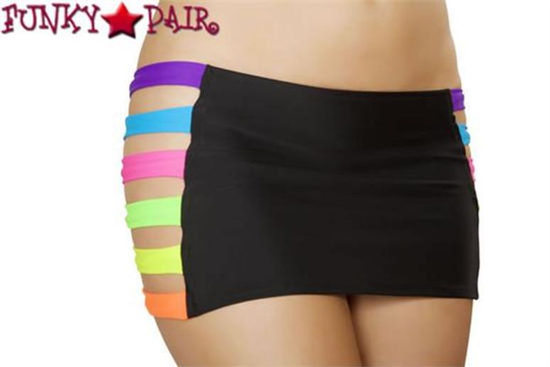 J. Valentine   SF136, Band Skirt Color Black/Multi