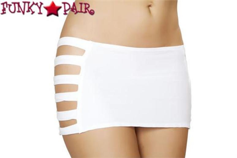 J. Valentine   SF136, Band Skirt Color White