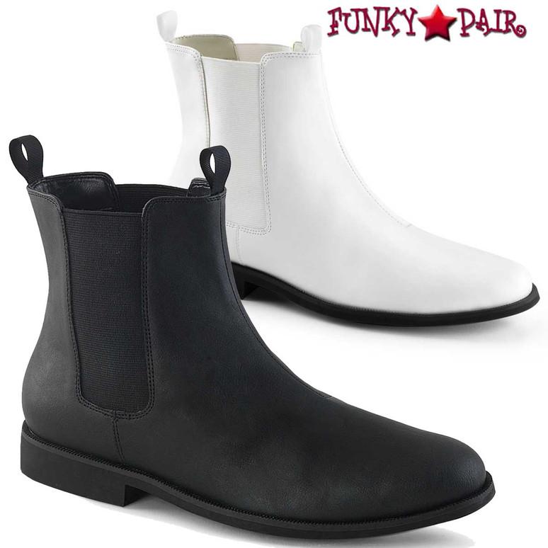 Funtasma   Trooper-12, Men's Pull on Chelsea Boot