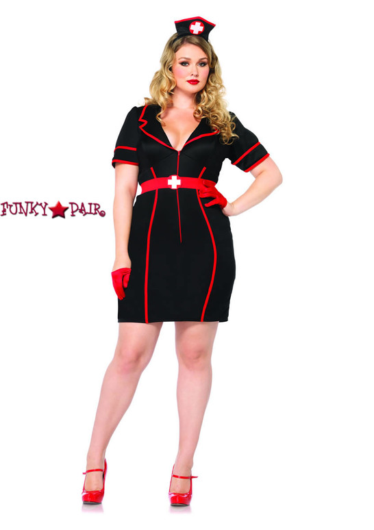 LA-85282X, Naughty Night Nurse Costume