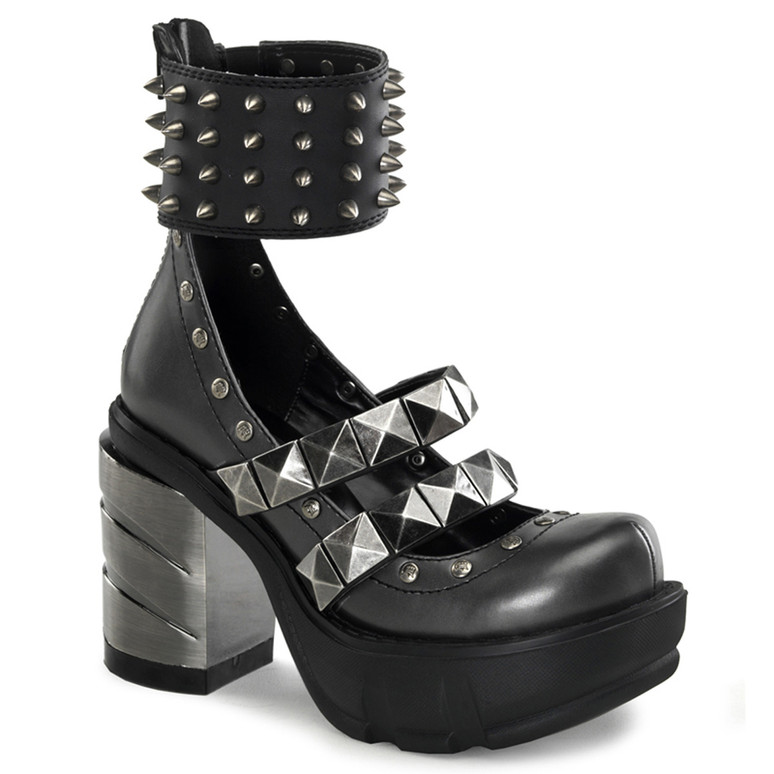 Demonia | SINISTER-62, Wide Ankle Cuffs Shoes