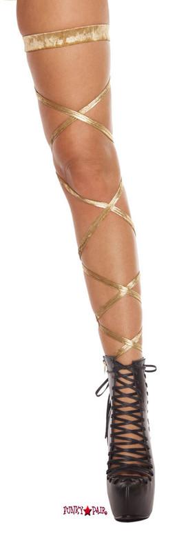 Velvet Leg Wrap raver