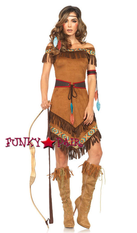 4PC Native Princess Costume
