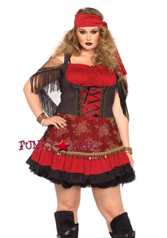 LA85381X, 2PC Mystic Vixen Costume