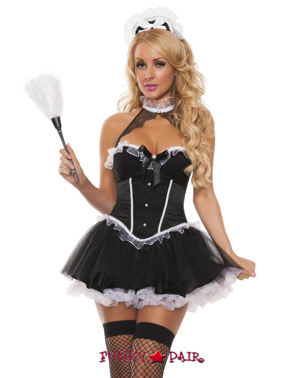 Park Ave Maid Costume (S5004)
