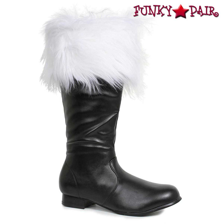 Santa Boots 121-NICK, Men's Costume Boot with Fur
