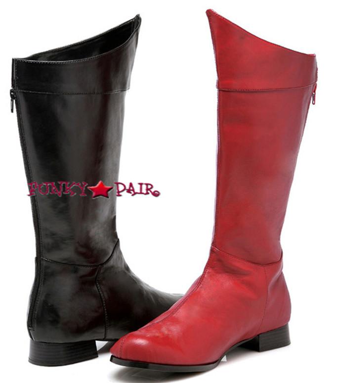 1031 Costume Boots 121-SHAZAM, Men's Super Hero Cosplay Boots