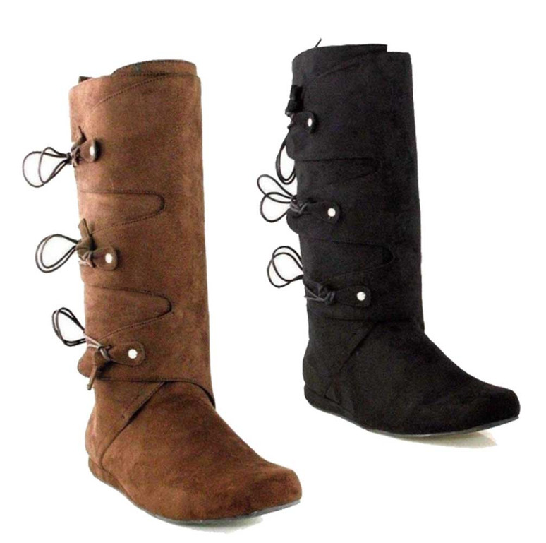Men's Indian Costume Boots by Ellie 111-Thomas