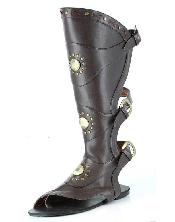 031-Destroyer, Men Gladiator Cosplay Sandal | Funtasma
