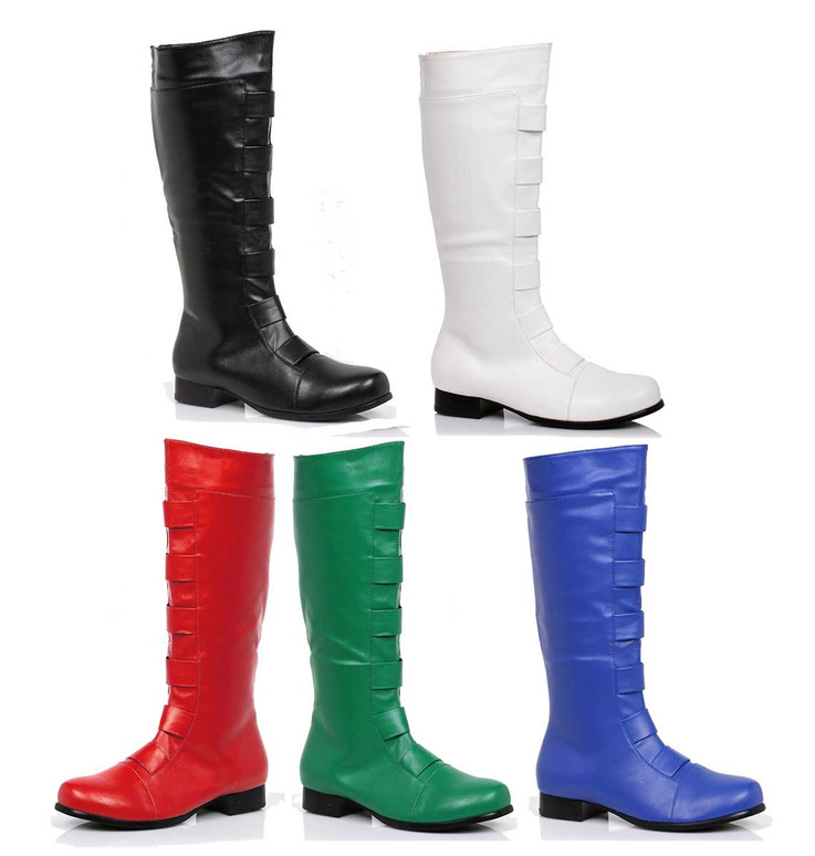 121-Marc, Men's Cosplay Super Hero Knee High Boots | 1031 Costume Shoes