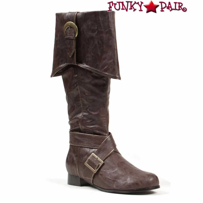 Men's Brown Pirate Boots | 1031 121-Jack