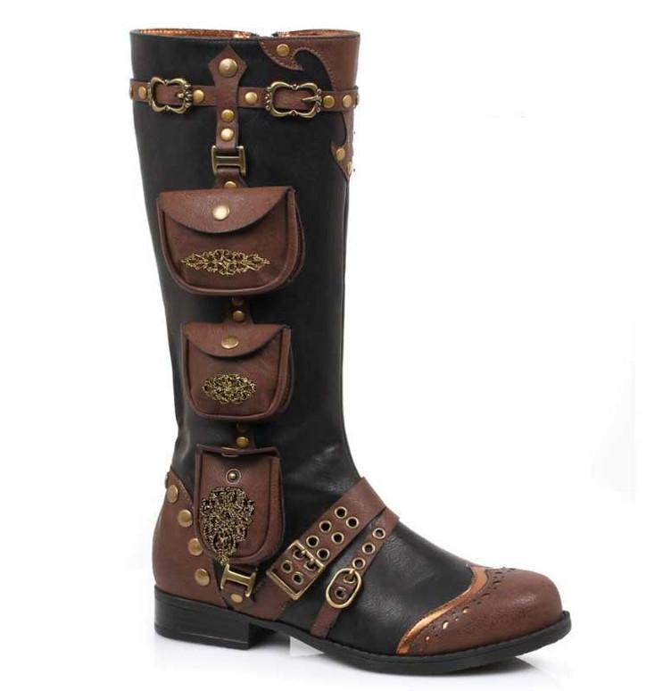 Ellie Shoes   181-SILAS, Women's Steampunk Boot