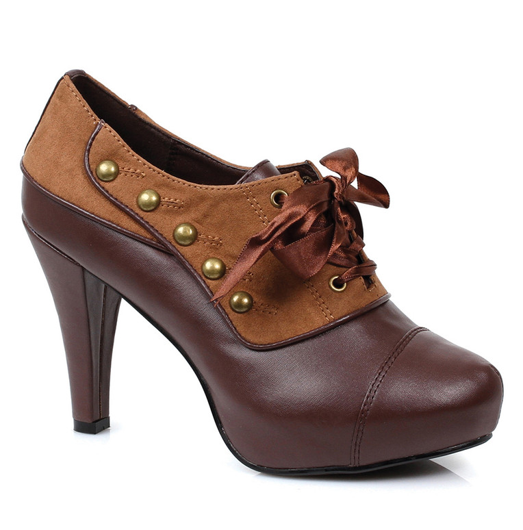 414-Steam, 4 inch Oxford Shoes,COSTUME SHOES