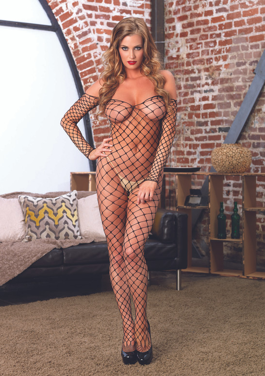 LA89142, Fence Net Bodystocking