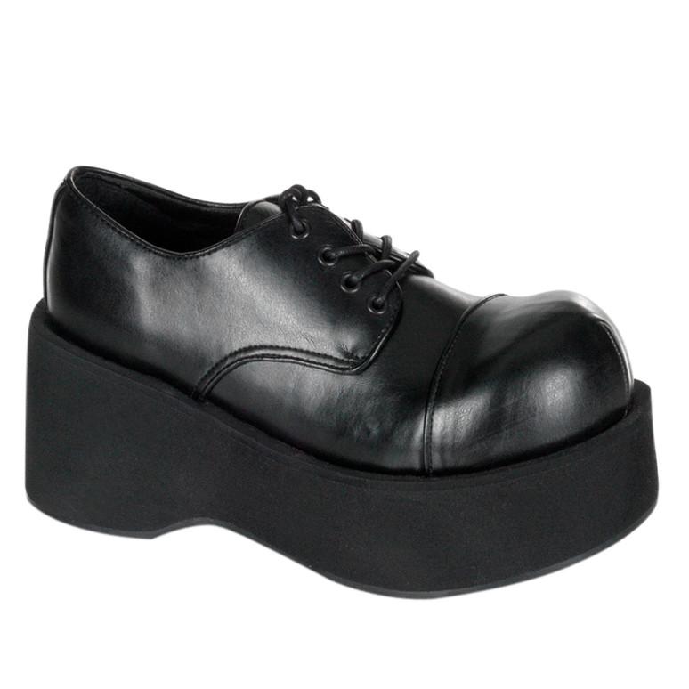 Vegan Leather Platform Punk Shoes Demonia | Dank-101