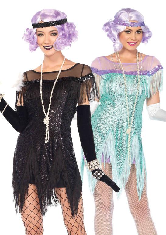 LA85568, Foxtrot Flirt Flapper Costume