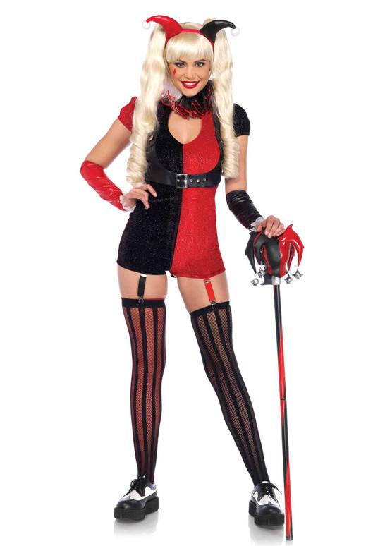 LA-85585, Sexy Mischief Maker Romper Costume