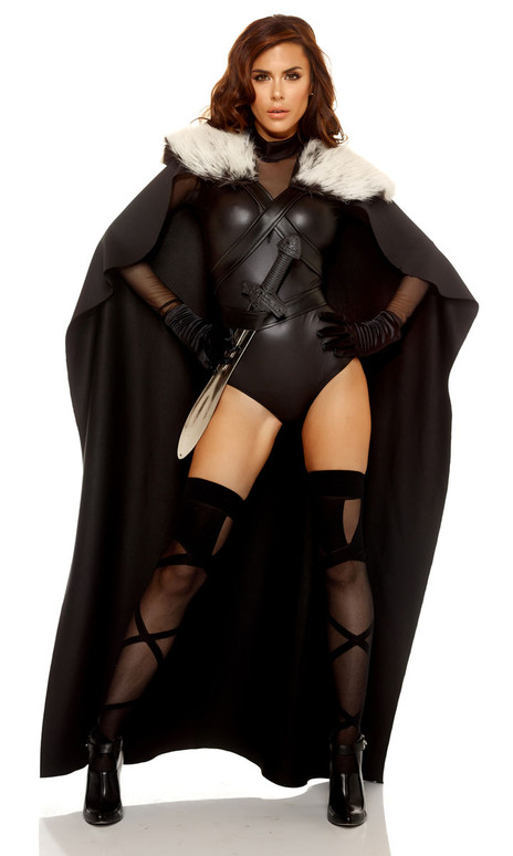 Forplay Costume | FP-116401, Cape with Faux Fur Collar