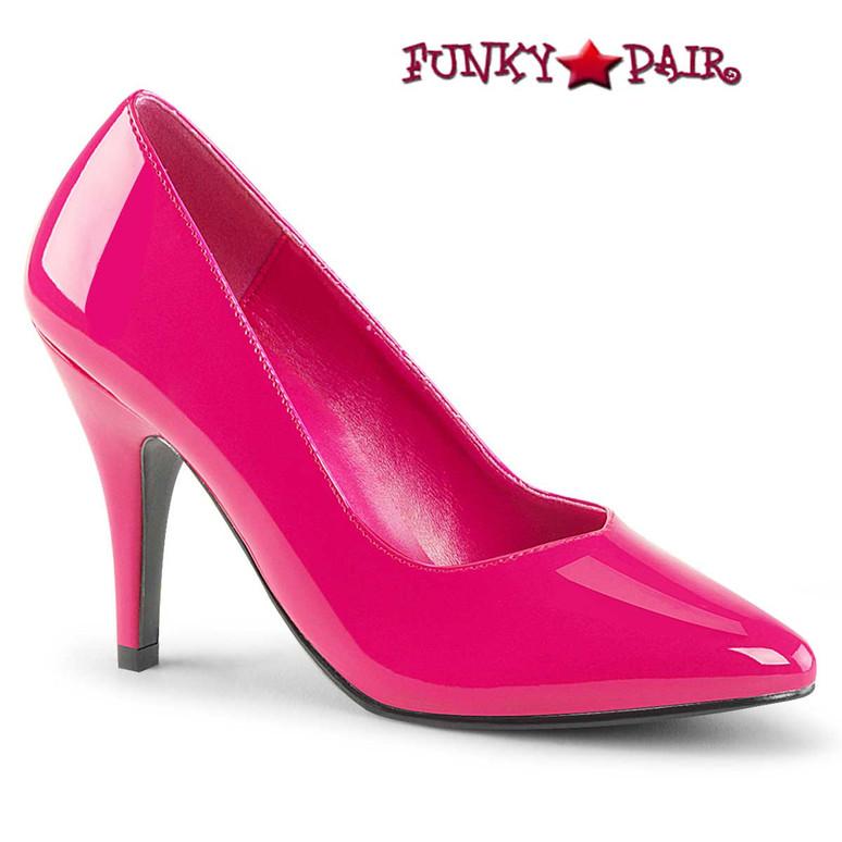 Pink Label | Dream-420 Crossdresser Pumps Plus Sizecolor hot pink patent