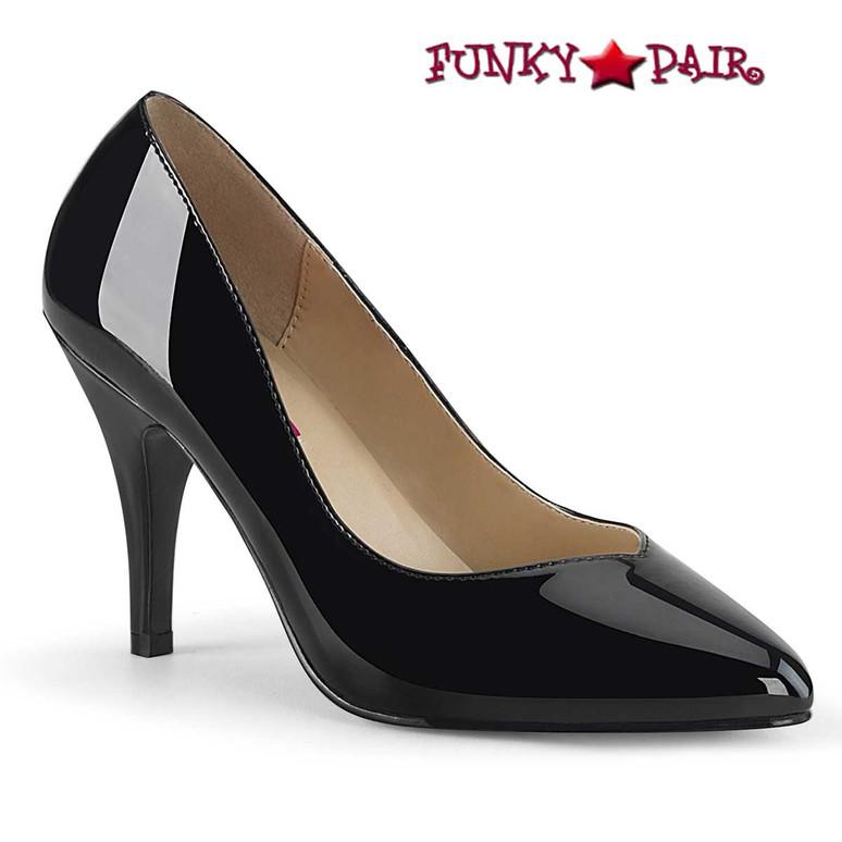 Pink Label | Dream-420 Crossdresser Pumps Plus Size color black patent