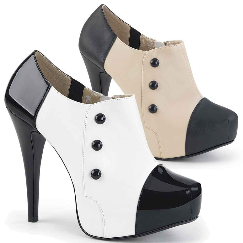 """Chloe-11, 5.25"""" Heel Womens Ankle Boots 