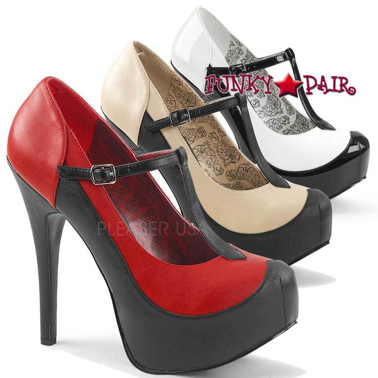 Pink Label | Teeze-45W, Wide Width Women Shoes Plus Size 9-16