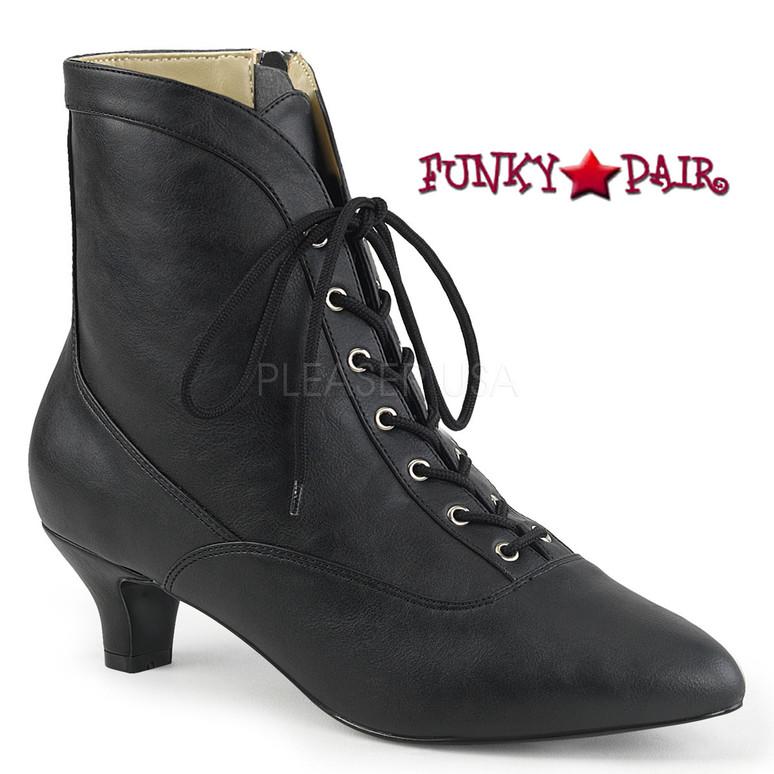 Pink Label | Fab-1005 Crossdresser Boots Size 9-16 Color Black