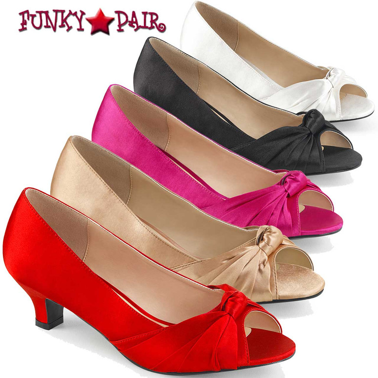 Pink Label | Fab-422 Cross Dresser Shoes Plus Size 9-16