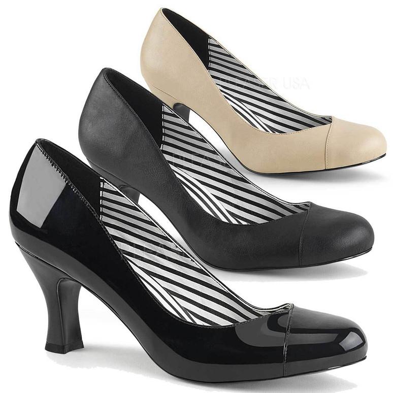 "3"" Heel CrossDresser Shoes Jenna-01, Pink Label"
