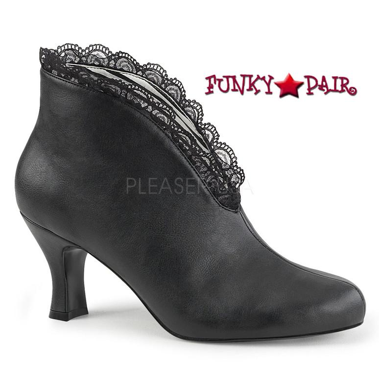Pink Label Jenna-105 color Black by Pleaser USA