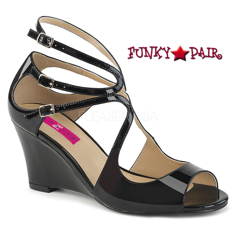Kimberly-04 color Black by Pleaser Pink Label