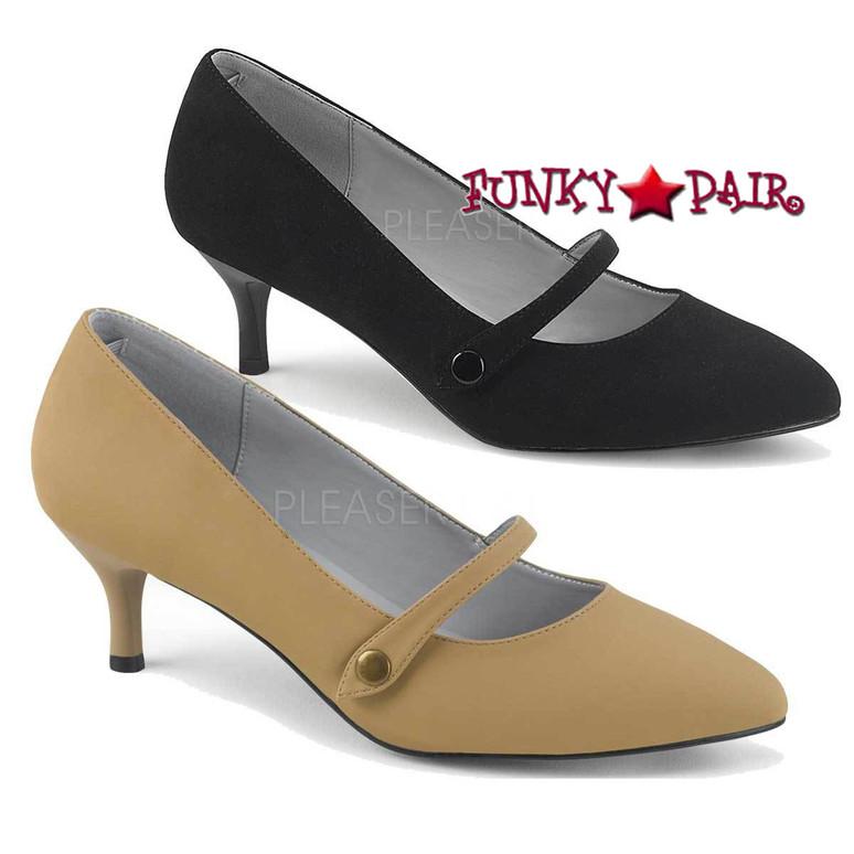 Pink Label   Kitten-03 Sissy High Heels Maryjane Pump Size 9-16