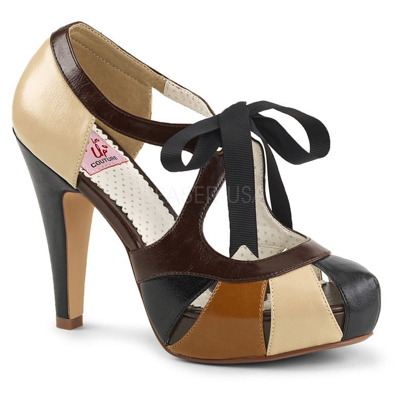 Bettie-19, 4.5 Inch Closed Toe and Back Sandal